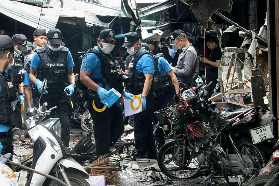 Explosão de bomba em mercado na Tailândia mata ao menos 3 pessoas - https://t.co/wDnw269tSv