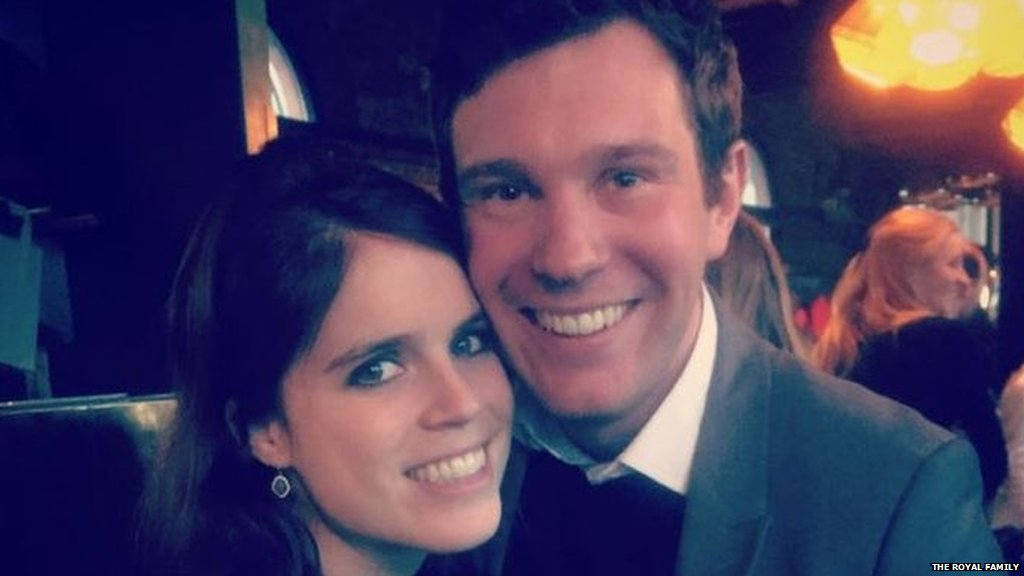 Duke and Duchess of York announce engagement of Princess Eugenie to Jack Brooksbank.  The wedding will take place in Windsor this autumn   https://t.co/0AKRFDLbyO