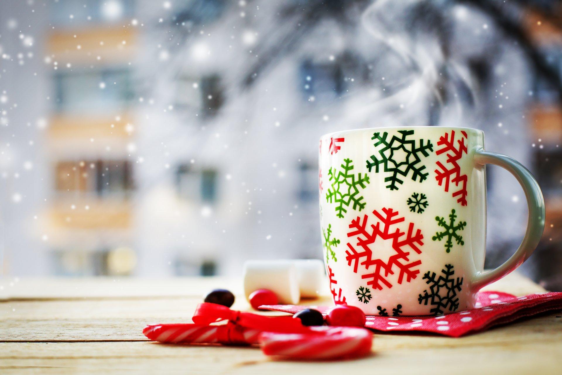 Открытка с добрым утром зима, днем