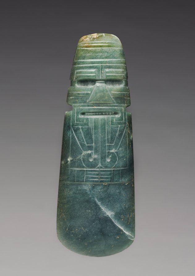 #History: celt-shaped pendant, #CostaRica, c. 300 BC - AD 600 https://t.co/3RJgSpsMD4 via @ClevelandArt