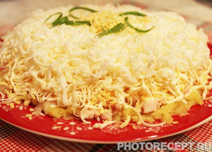 Праздничные салаты на день рождения рецепты с фото и оформление