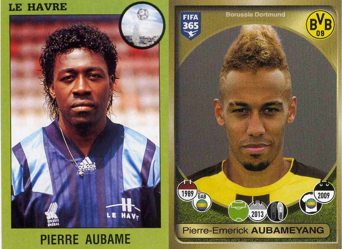 Picture of Pierre-Emerick Aubameyang Father, called Pierre Aubame