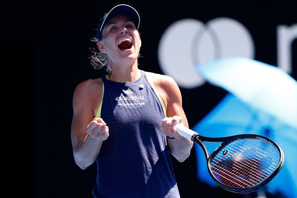 It was a match we didnt want to take our eyes off.... And @AngeliqueKerber was the one who didnt take her eyes off the task at hand: bit.ly/2Dsd6yF #AusOpen