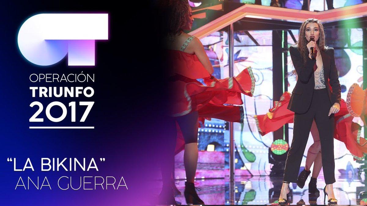 Mejor actuación OT  🔁 Ana Guerra: La Bik...