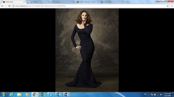 Diane Lane has changed her profile photo and you should all take notice. Also, happy birthday, gorgeous!