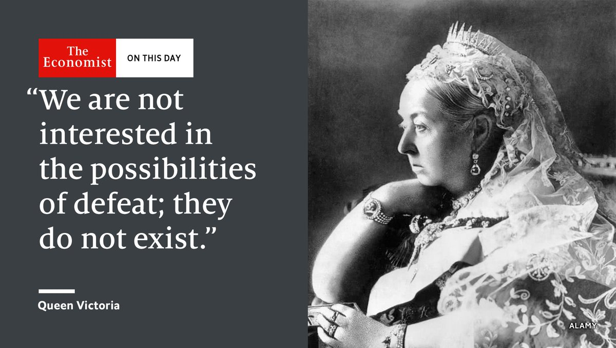 """Of the magnitude of that loss...there can, indeed, be no doubt"": Queen Victoria died #OnThisDay 1901 https://t.co/pYUe2hqGCm"