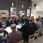 Sastanak predstavnika Grada #Niš i švedskih firmi sa državnim sekretarom Ministarstva EU i trgovine Kraljevine Švedske #uovomtrenutku