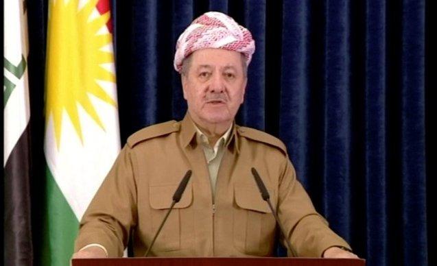 Barzaniden Afrin mesajı