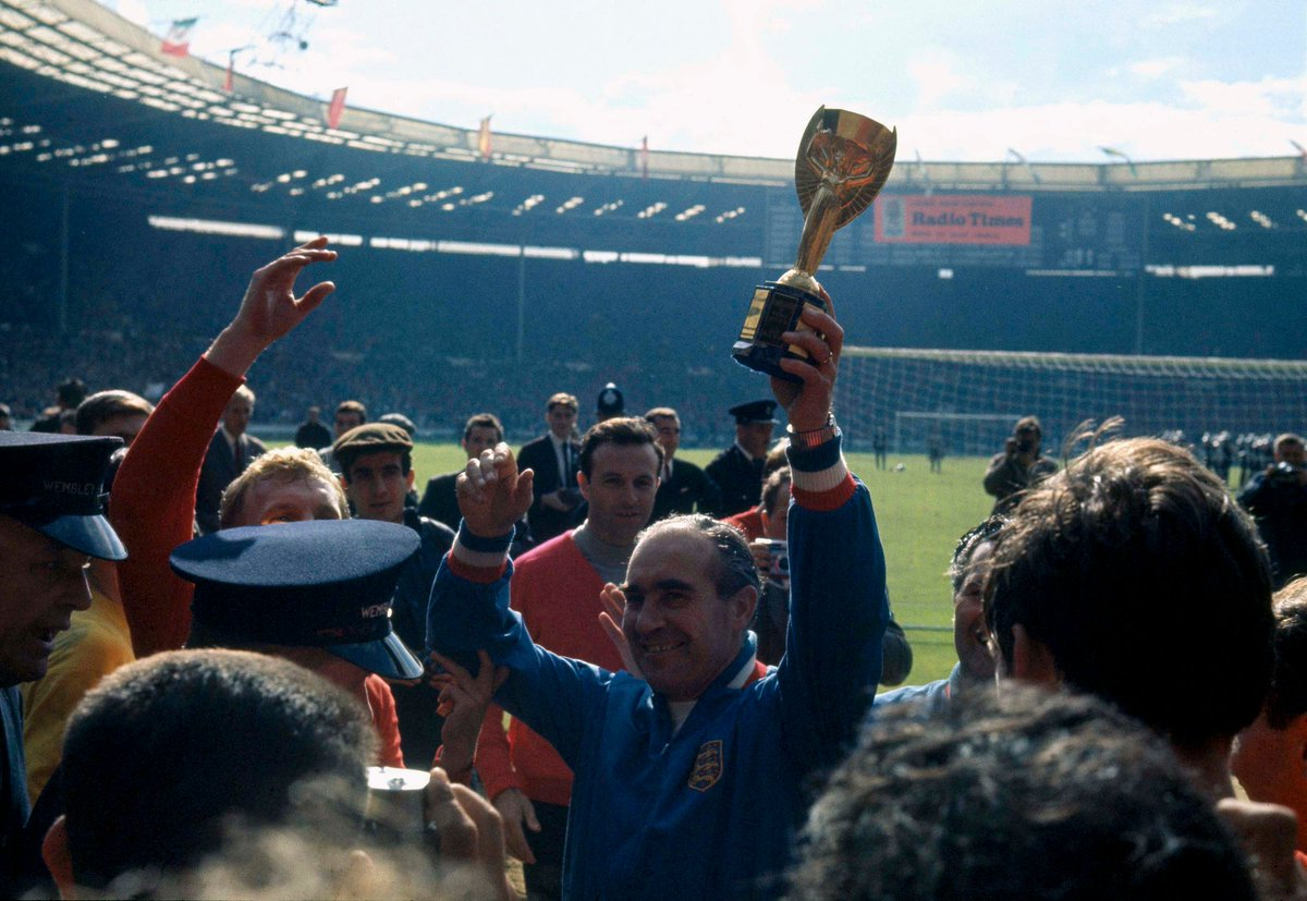 #OnThisDay in 1920, Sir Alf Ramsey – the man who led the #ThreeLions to winning the 1966 #WorldCup – was born.