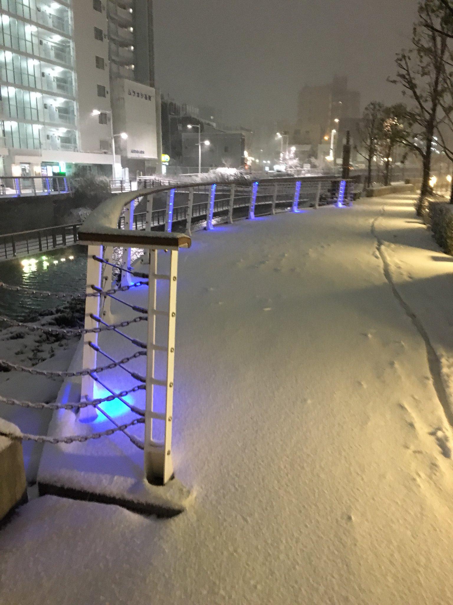 画像,留学生にとしてめっちゃ喜ぶ😍東京で雪が見えるなんて、わーい(⌒▽⌒) 日本すごい!#東京 #雪 https://t.co/YzsZXhKSQw…