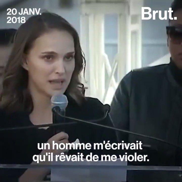 Le discours de Natalie Portman à la Womens March de Los Angeles. Sans commentaire.