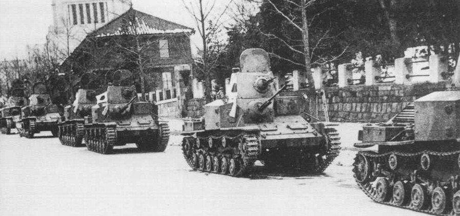 """日本戦車bot on Twitter: """"[二二六事件時に出動した陸海軍の戦車] 82年 ..."""