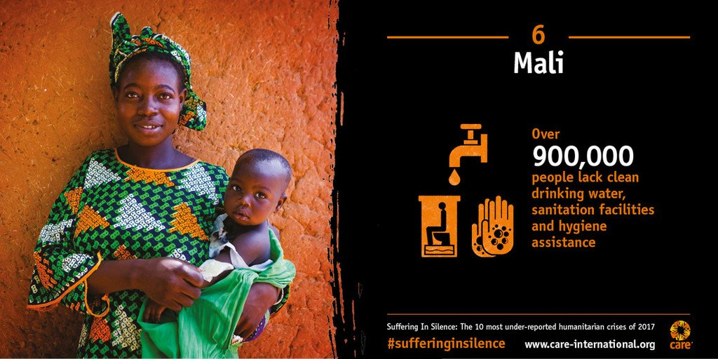 The population of Mali is trapped in a vicious cycle of aid dependency and malnutrition. Read the full reporthttps://t.co/aCvk0gsGIa #SufferingInSilence: