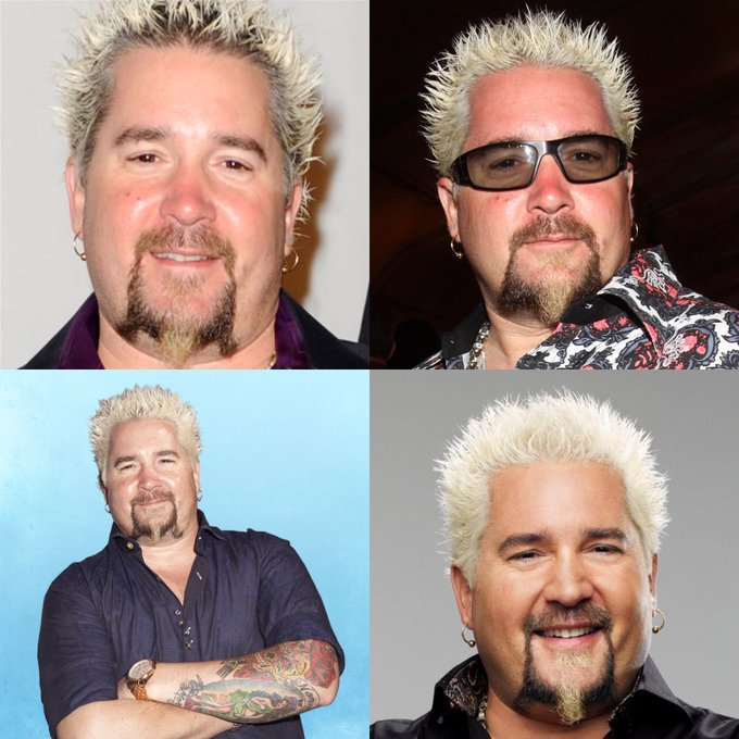 Happy 50 birthday to Guy Fieri . Hope that he has a wonderful birthday.