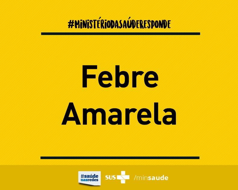 #FAQMS | Perguntas e respostas sobre a Febre Amarela. Leia: https://t.co/PpPLckw0oq #FebreAmarela