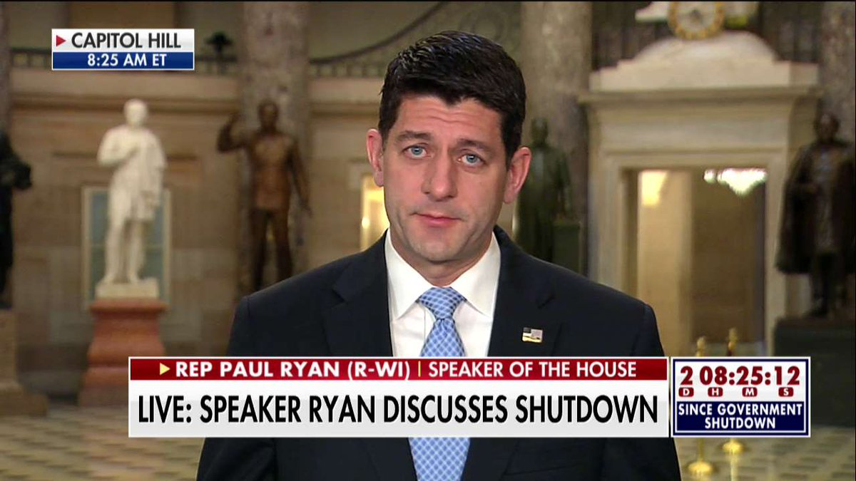 .@SpeakerRyan: 'Senate Democrats did this. Senate Democrats are the ones who can stop this.'