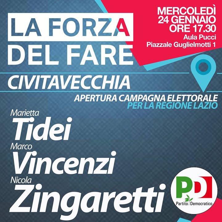 Elezioni civitavecchia 2019 candidating