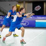 Badminton: SILVER for @PatrickMacHugh & @MartinCam90 at t...