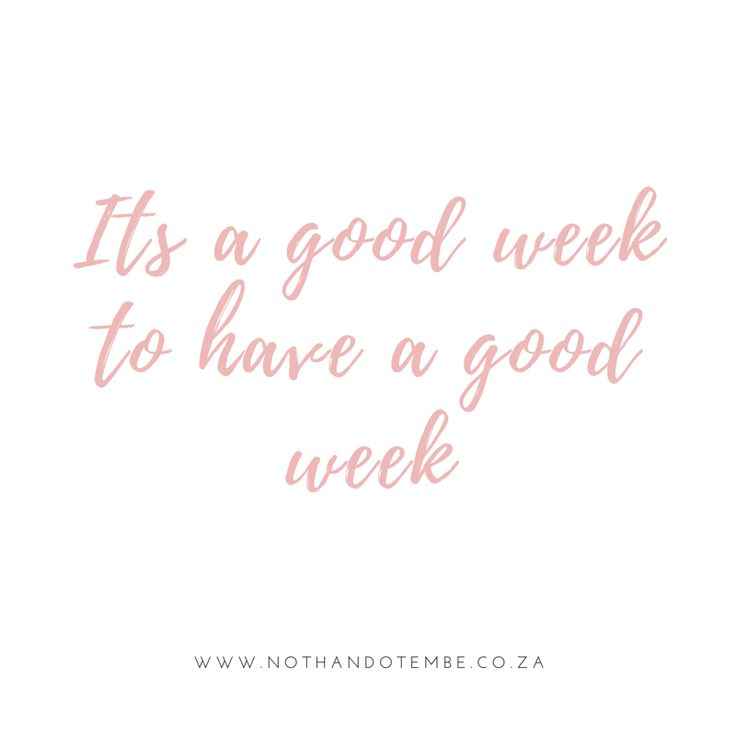 Week Quotes Alluring Best 25 New Week Quotes Ideas On Pinterest  New Week Positive