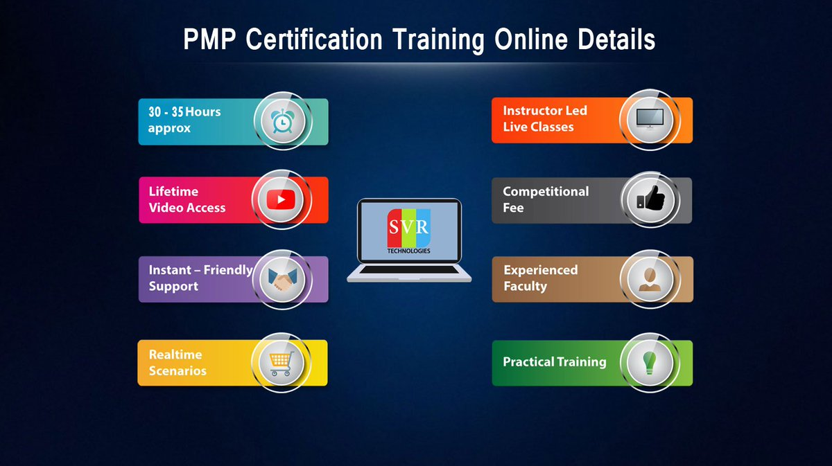 Svr Technologies On Twitter Pmp Certification Training At Svr