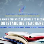 We turn talented graduates into outstanding teachers. Train to become a teacher with Rochdale Pioneers Partnership https://t.co/8sGUTYakO6 #traintoteach #itt #getintoteaching
