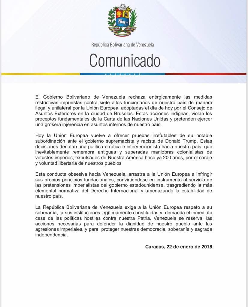 Situación Política en Venezuela - Página 19 DUJvyjbVoAEF3WC