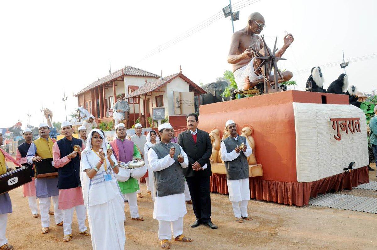 Centenary of Sabarmati Ashram as theme of Gujarat govt tableau on this 26 January