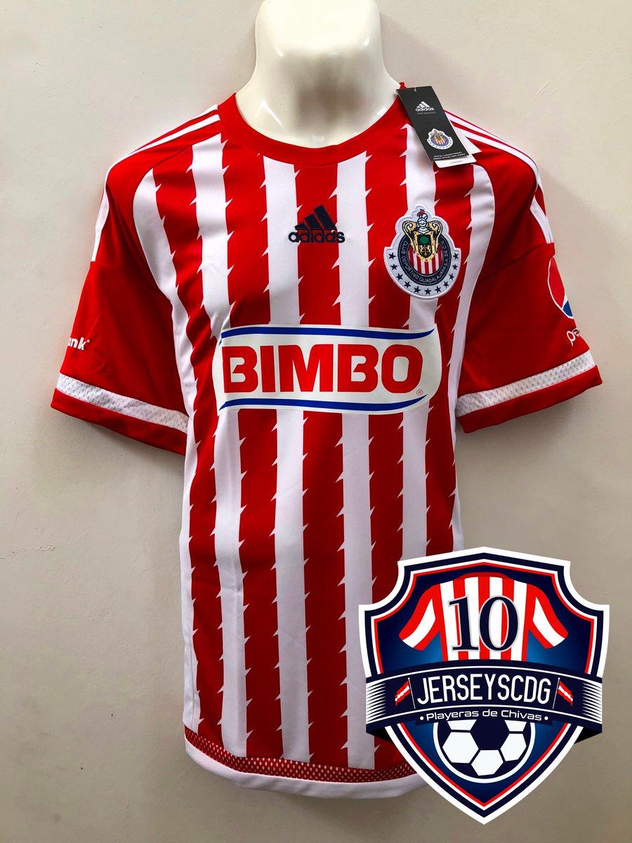 huge discount ee633 28b2e Playeras de Chivas on Twitter: