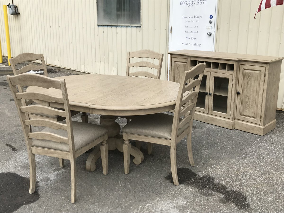 Merveilleux Fresh Off The Truck! We Have Several New Dining Sets, Sofau0027s And Tables  Just In. Stop By And Check Out The Hand Painted Checker Tables  Too!pic.twitter.com/ ...