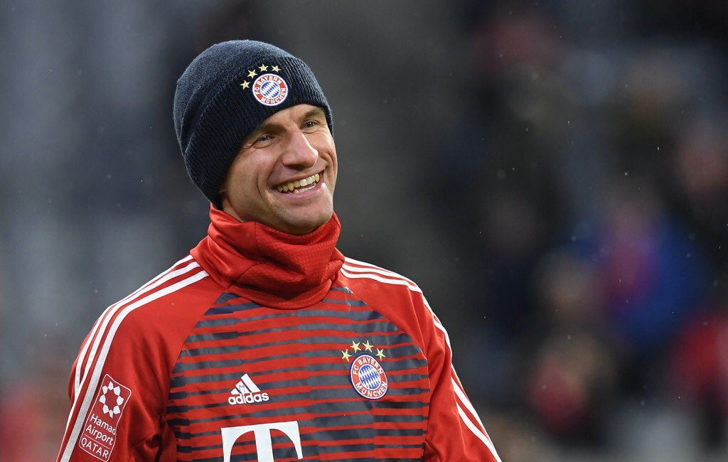 Thomas Müller in the Bundesliga for Baye...