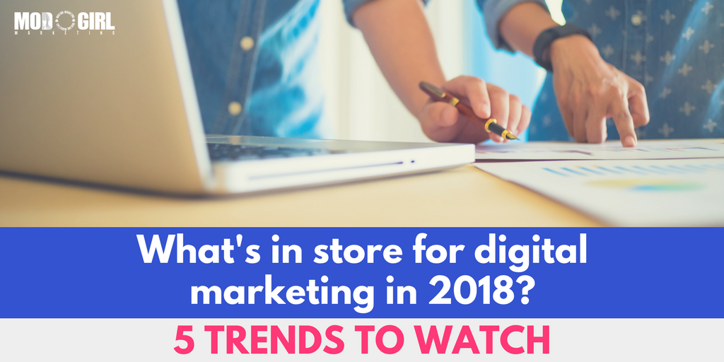 RT https://t.co/cbJXFMcgZI .@MandyModGirl shares the 5 #digitalmarketing trends that we're following in 2018. Check them out & discover how to use them to grow your #biz here: …  RT https://t.co/IkbBBSLM4Y RT @ModGirlMktg: .@Man…