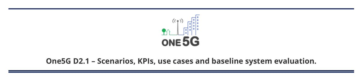 "Some industries seem to require more stringent values for latency and reliability than the ones currently considered in 3GPP. To know more have a look at the @ONE_5G deliverable on ""Scenarios, KPIs, use cases and baseline system evaluation"" https://t.co/wxEcX49Gt8 #5GPPP #5G https://t.co/yXt4EAG7Al"