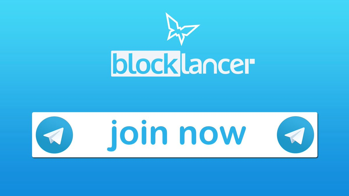 Blocklancer on twitter have questions about our tokensale learn more and chat with the team members in our telegram channel click here to join httpsbuff2f5hyx4 cryptocurrency blockchain freelancing ccuart Choice Image