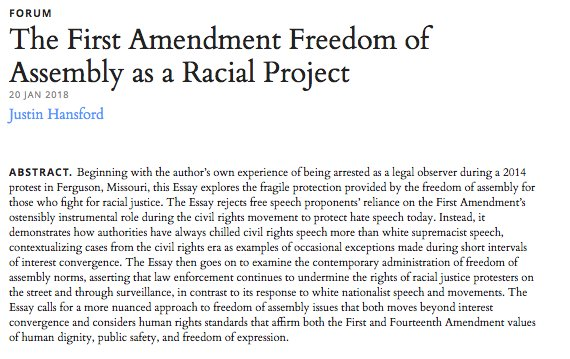 first amendment protection of journalists essay Because of the first amendment purpose to protect the public's ability to discuss governmental affairs along with court decisions denying that it provides any special rights to journalists, eg, branzburg v.