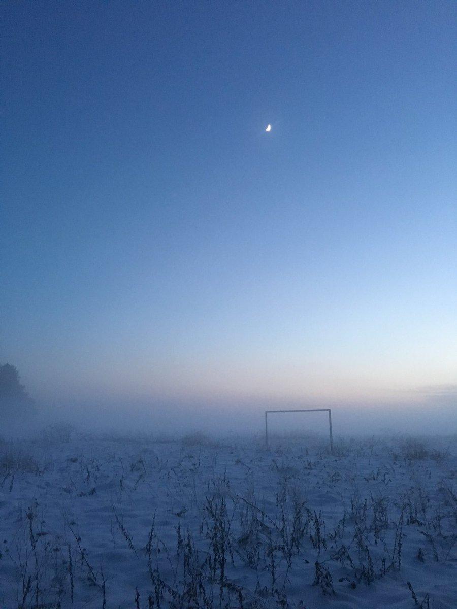 Как нарисовать туманный вечер