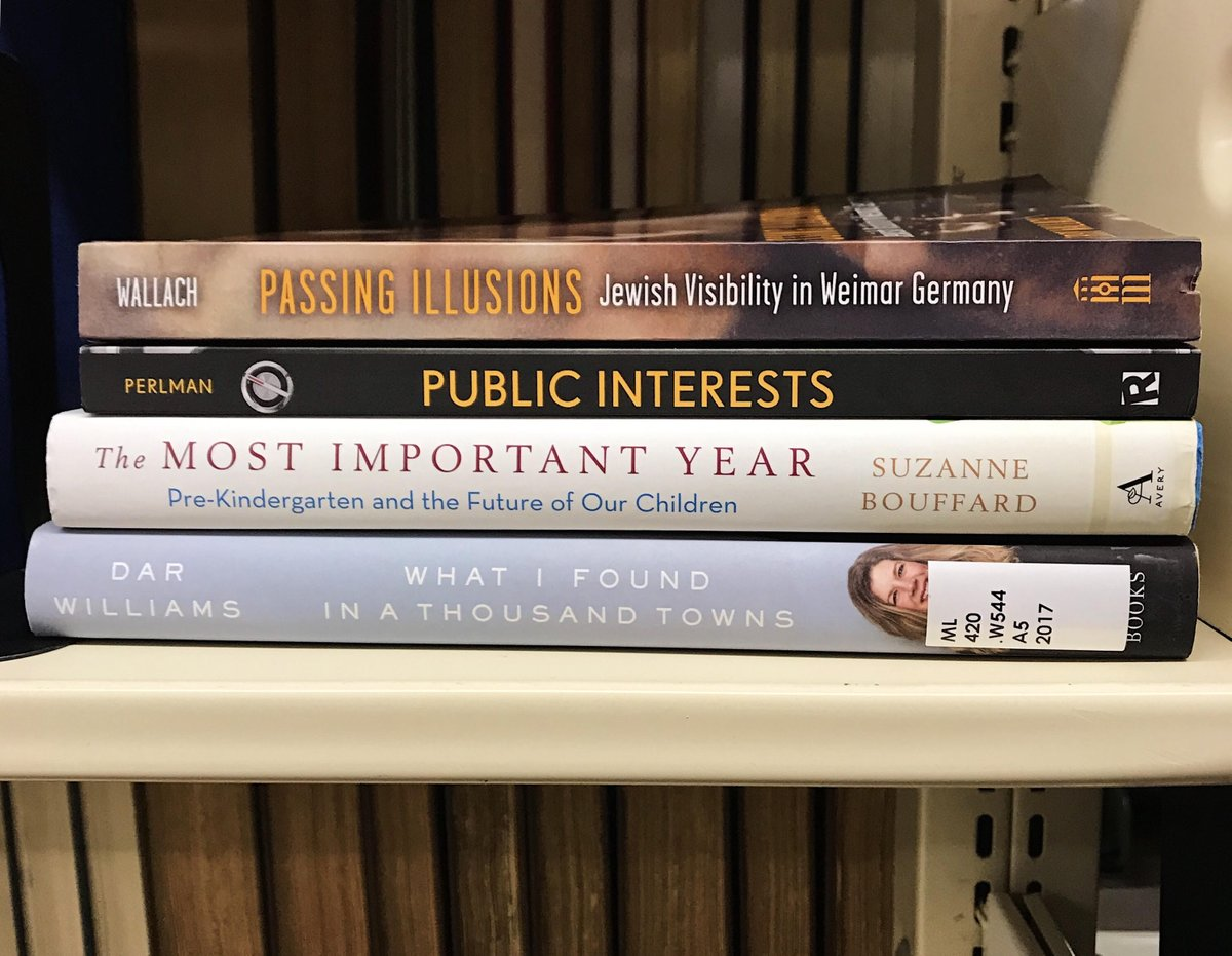test Twitter Media - Keep up with Wes alumni authors with Wesleyan Magazine! Some of the books profiled in the latest issue are available at Olin. Read reviews here: https://t.co/qt7HedTI17 @SuzanneBouffard@KerryWallach@DarWilliamsTour#WesReads https://t.co/9IXws0CAXR