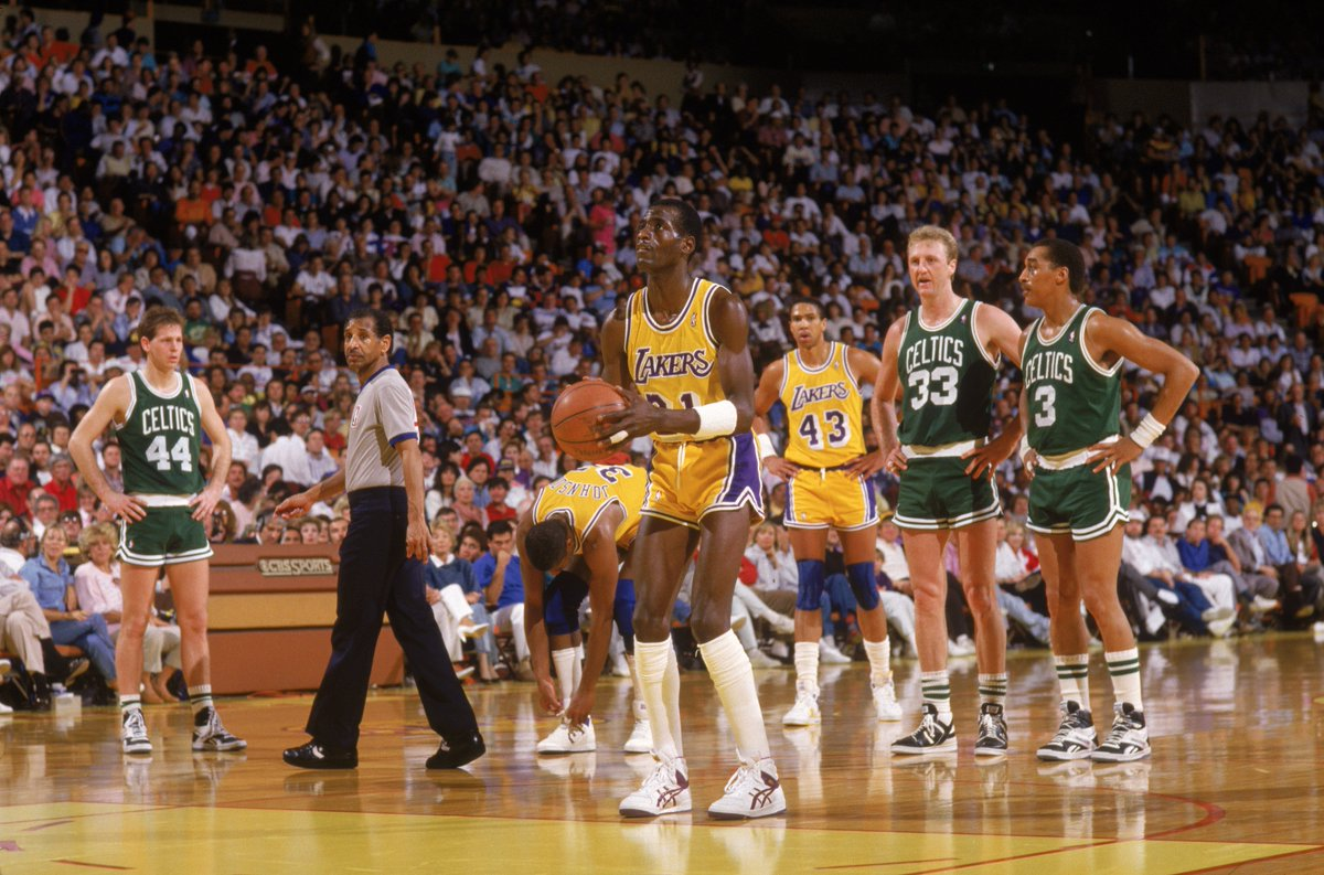🚨 ONE HOUR WARNING 🚨  There are rivalries... and then there is the Celtics vs the Lakers.  Watch an incredible 30 for 30 documentary on how the rivalry saved the NBA. 🏀