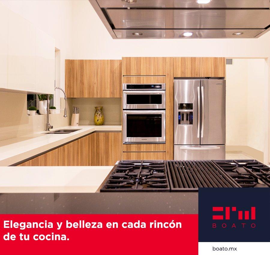 Diseña y personaliza cada detalle de tu cocina. Usa los mejores materiales y electrodomésticos.  Calidad profesional en tu hogar. #BOATO #InteriorDesign #KitchenDesign https://t.co/JwygiKk4OQ