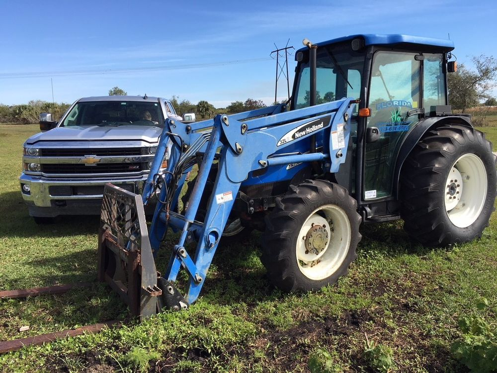 New holland Tn75da Tractor manual