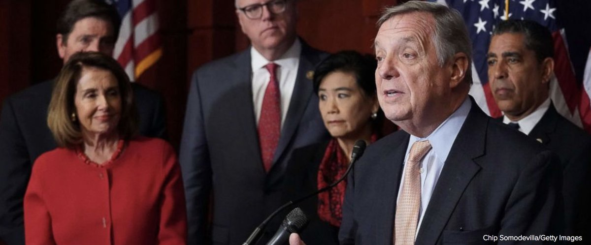 Explosive new Trump campaign ad calling Democrats 'complicit' in murder due to immigration won't work, Sen. Dick Durbin says. https://t.co/bMtyQgdLTF