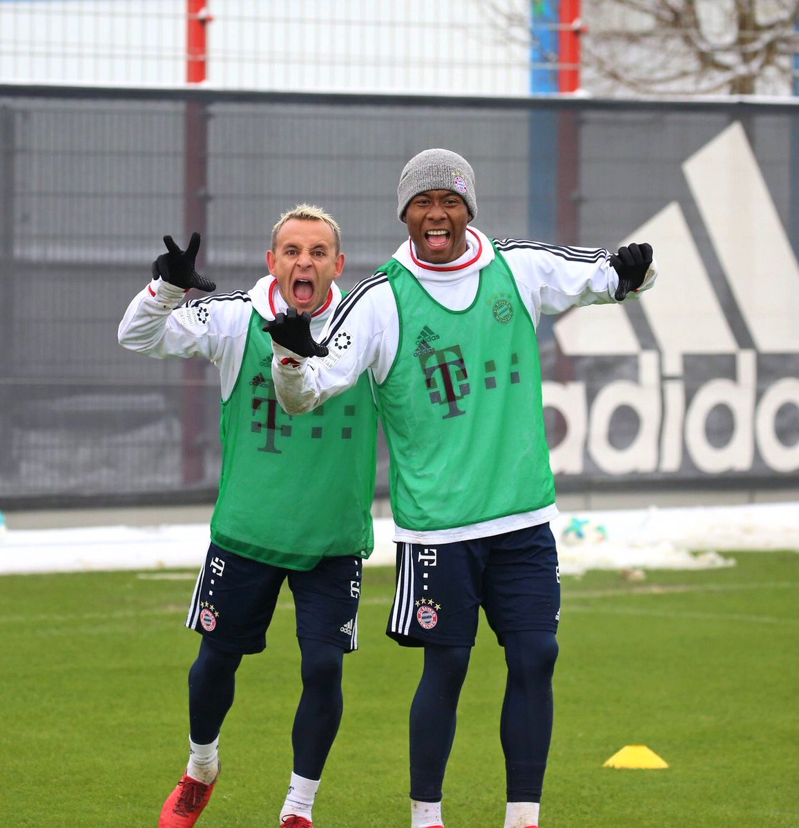 Fun mode with @R13_official 😜 @FCBayern...