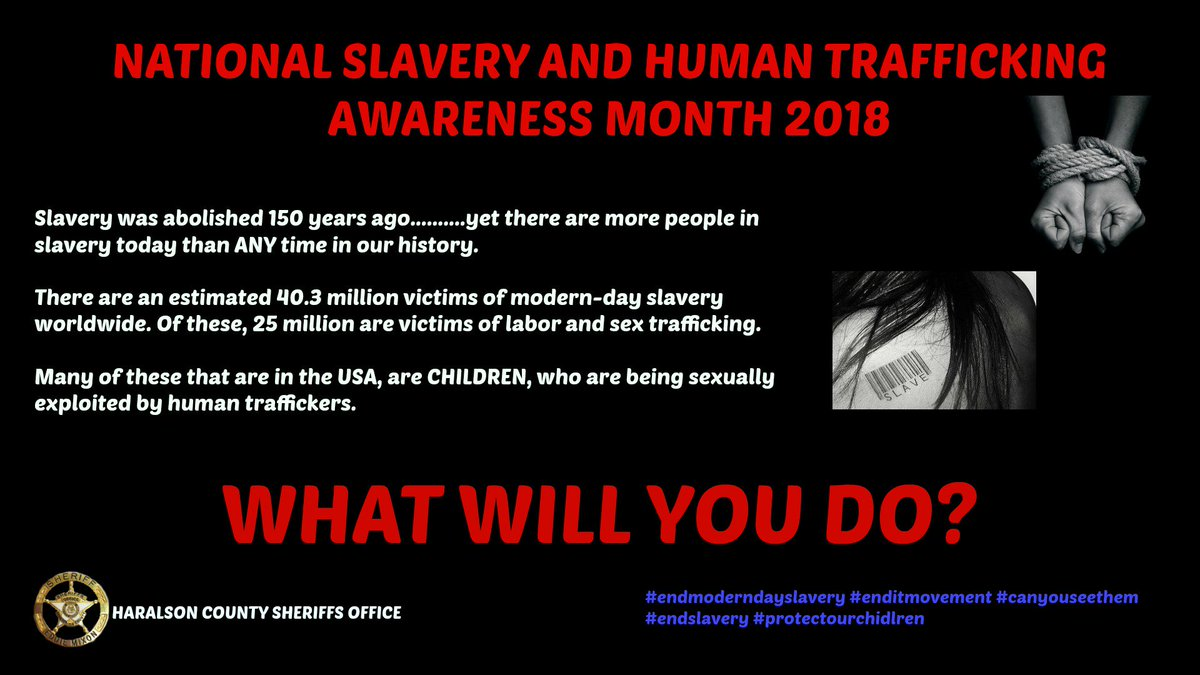 93a1a09007 Human slavery is at an all time high, we MUST fight harder to free them all.  #endmoderndayslavery pic.twitter.com/1uI7k5iM9D