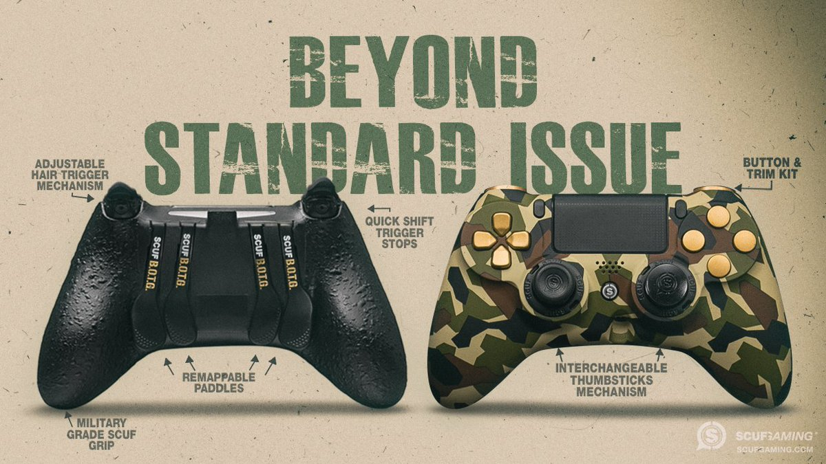 The SCUF IMPACT will get you performing...