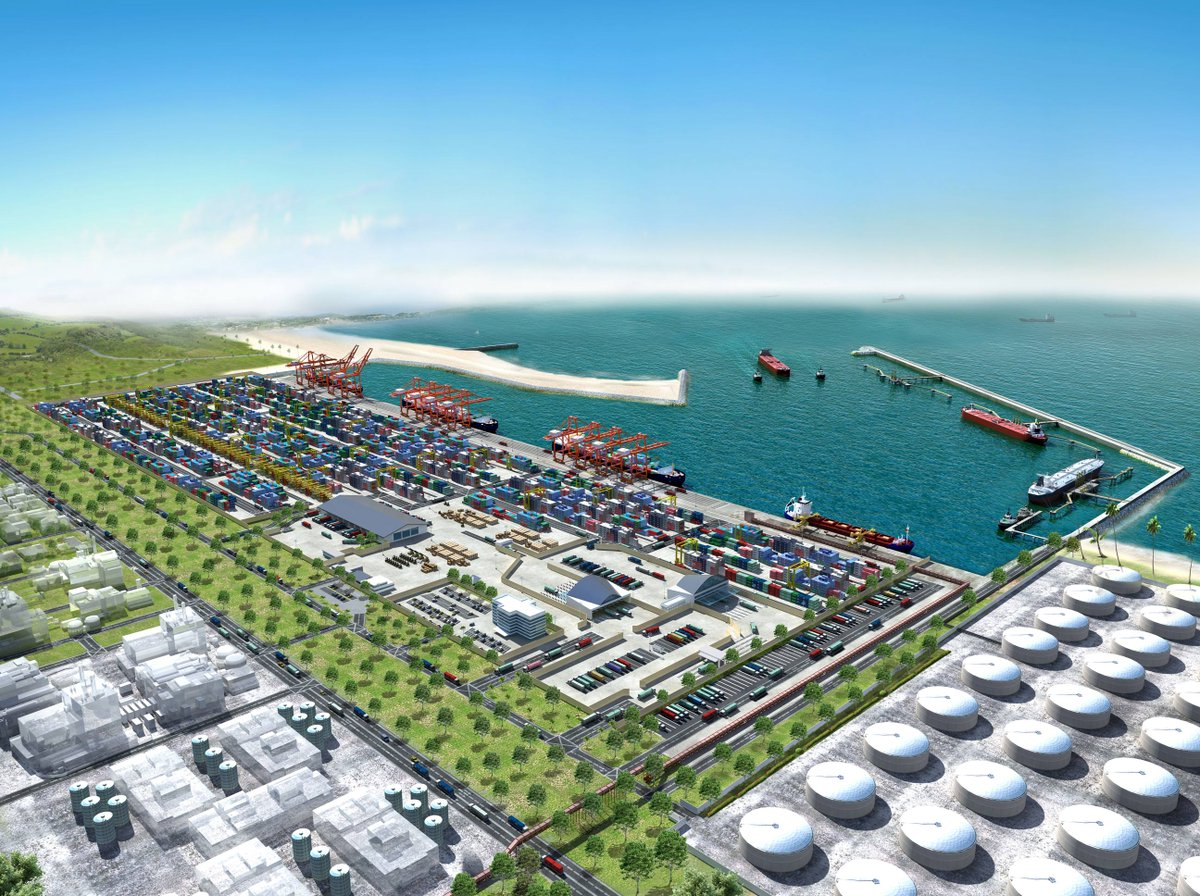 China financiará con US$ 1.000 un puerto de aguas profundas en Nigeria