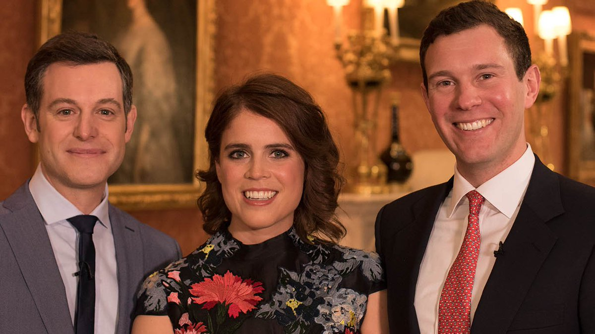 Tłumaczenie zaręczynowego wywiadu księżniczki Eugenie i Jack'a Brooksbank.