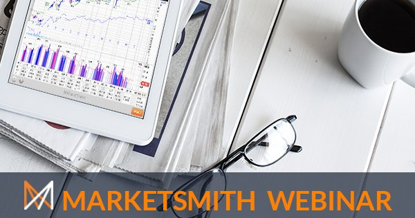 Join a free MarketSmith webinar 'Using Industry Groups in Stock Analysis' tomorrow at 12pm ET. Register here: https://t.co/CppcrO3tLo