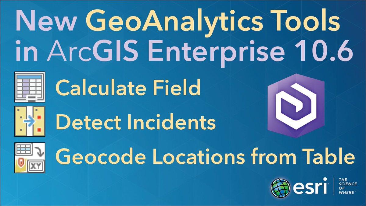 ArcGIS Enterprise on Twitter: