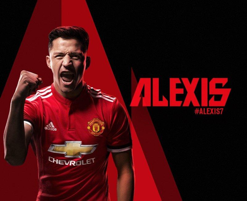 ,Алексис Санчес официально является игроком «Манчестер Юнайтед».