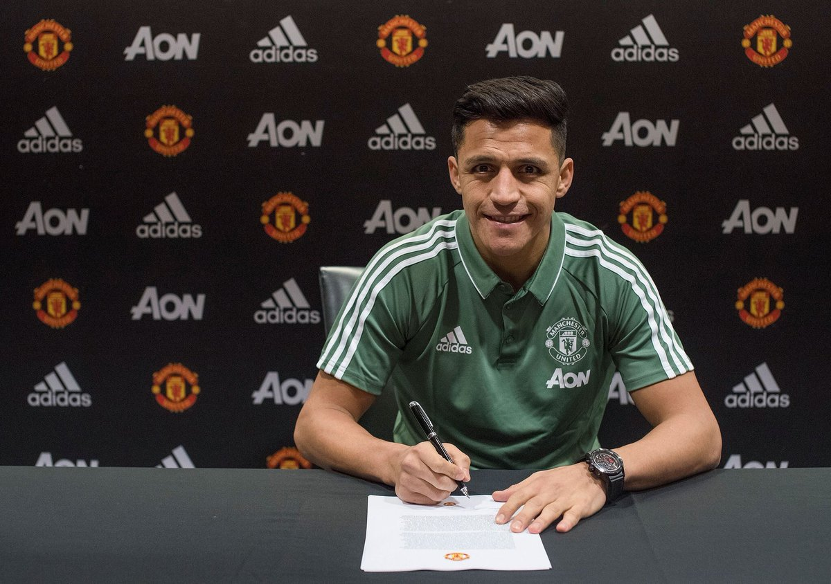 Perpindahan Kontroversi Sanchez Ke Manchester United Belum