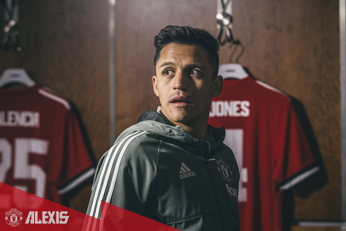 RT @ManUtd: New player, Old Trafford.  Welcome, @Alexis_Sanchez! #Alexis7 https://t.co/Z2Ob2nzmDM